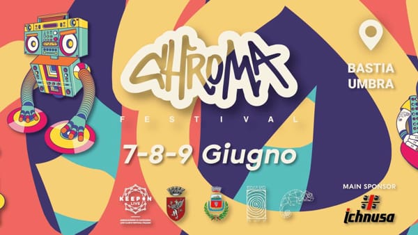 Bastia Umbra, a Giugno ritorna Chroma Festival