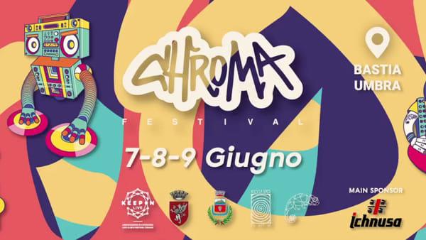 Arriva il Chroma Festival a Bastia Umbra dal 7 al 9 Giugno