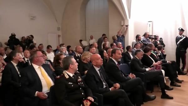 """VIDEO Il Pinturicchio ritrovato, Ricci: """"Ottima operazione, dal ministero l'impegno a far conoscere quest'opera"""""""