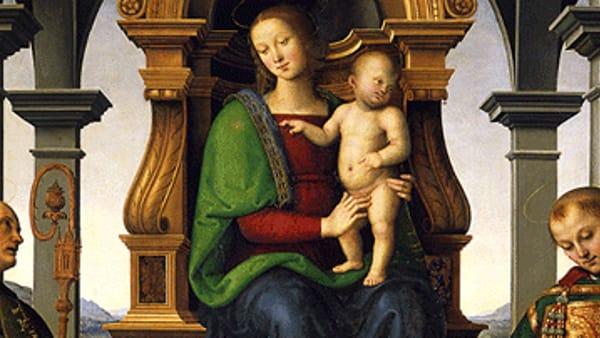 """La Pala dei Decemviri del Perugino ritorna """"a casa"""" (ma solo fino a gennaio)"""