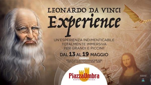 Leonardo Da Vinci Express, a Piazzaumbra di Trevi in mostra il genio