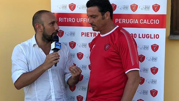 VIDEO Serie B, Perugia in campo a Pietralunga, il bilancio di mister Oddo
