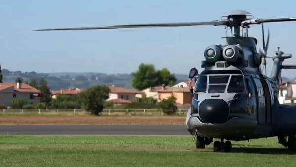 VIDEO Grifone 2019, il soccorso arriva dal cielo