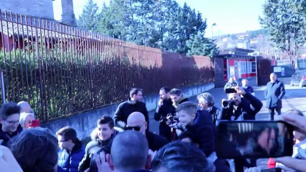 VIDEO Cosmi nuovo allenatore del Perugia, l'abbraccio dei tifosi