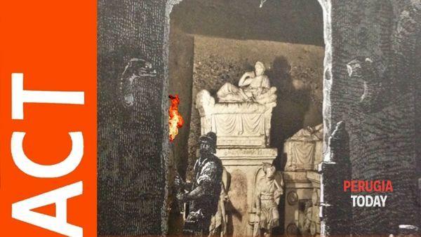 L'ipogeo dei Volumni festeggia i 175 anni dalla sorprendente scoperta