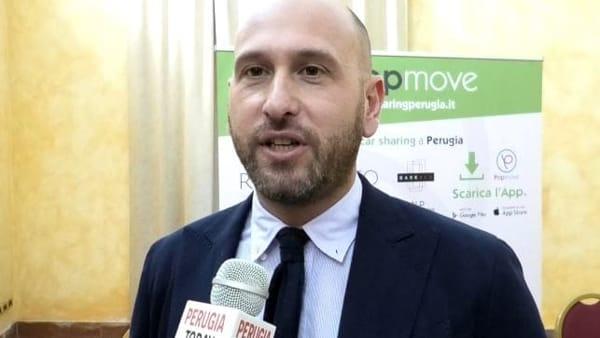 VIDEO A Perugia arriva il car sharing, auto elettrica a disposizione con un click
