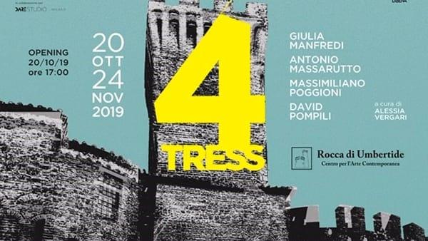 Rocca di Umbertide, arriva la mostra 4Trees, tra flora, fauna, uomo e società