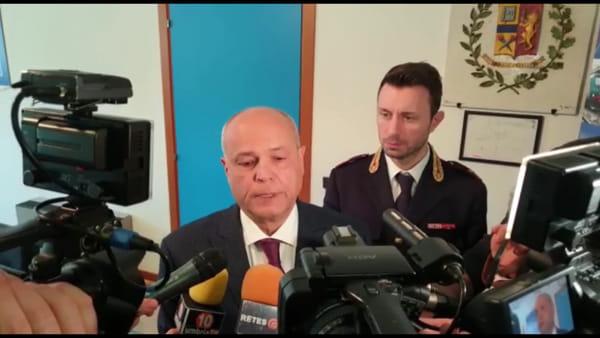 """VIDEO Antonio Sbordone è il nuovo questore di Perugia: """"Emergenza coronavirus, pronti a fare la nostra parte"""""""
