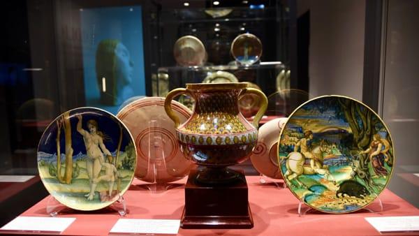 Mostra sulle ceramiche a lustro a Palazzo Bonacquisti di Assisi, c'è tempo fino al 13 Ottobre