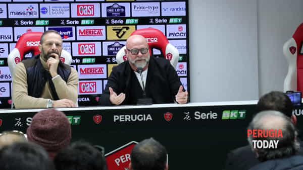 """VIDEO Cosmi nuovo allenatore del Perugia: """"La squadra? Le faremo venire fame"""""""