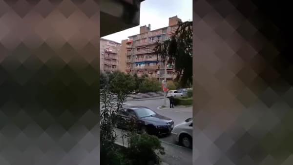 VIDEO Coronavirus, #iorestoincasa: alle 18 L'Italiano di Toto Cutugno risuona per il viale del San Sisto