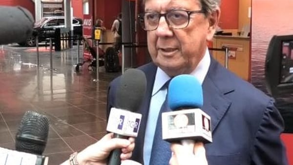 "VIDEO Volo Perugia-Linate, Cesaretti: ""Opportunità per affari e turismo"""