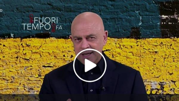 """VIDEO Inchiesta sanità in Umbria, Crozza: """"Il Pd non conta più? Ma se in Procura a Perugia è il primo partito"""""""