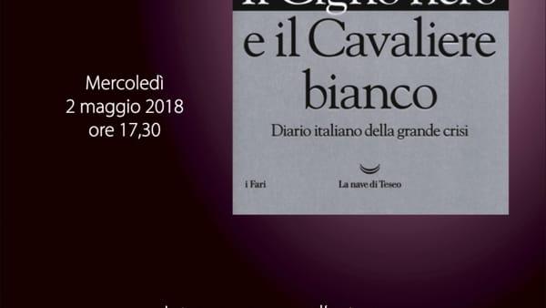 Roberto Napoletano presenta il suo nuovo libro a Perugia: il Cigno nero e il Cavaliere bianco
