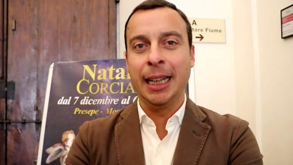 """VIDEO """"Corciano è la città del Natale"""", un mese di iniziative nel borgo medievale"""
