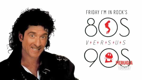 Perugia: all' Urban Friday I'm in rock torna con 80s VS 90s