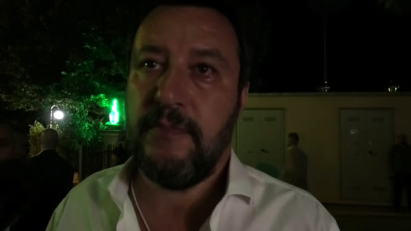 """VIDEO Elezioni regionali, Salvini torna in Umbria: """"Questa volta si vince, candidato, liste e programma giusti"""""""