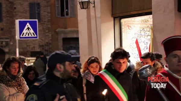 VIDEO Perugia, la Luminaria dà il via alle celebrazioni per San Costanzo
