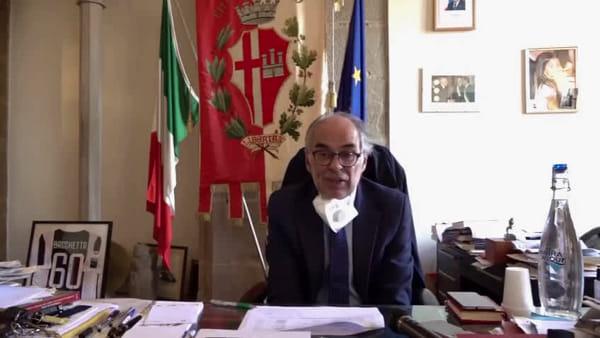 """VIDEO Coronavirus, a Città di Castello 7 nuovi casi. Bacchetta: """"Domani minuto di silenzio per le vittime. Grazie alla solidarietà ricevuta"""""""