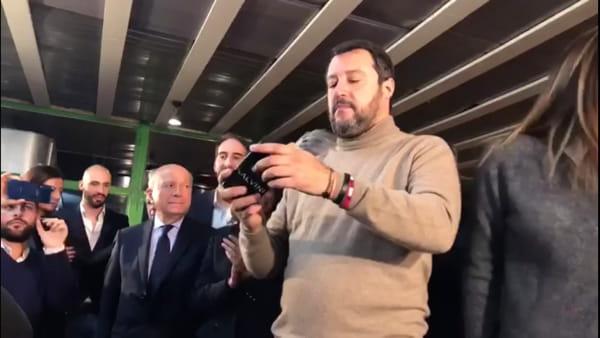 """VIDEO Elezioni in Umbria, Salvini a Perugia: """"Sanità, se ci potrà essere un contributo dai privati, deciderà la Giunta"""""""