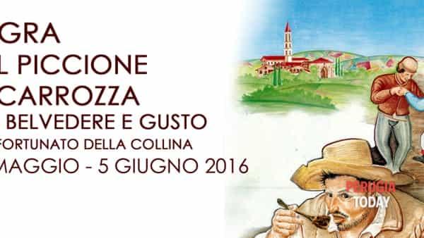 Sagra del Piccione in Carrozza fra Belvedere e Gusto a San Fortunato della Collina: tutte le novità