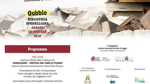 """Da Gubbio a Perugia arriva il """"Viaggialibro"""", Festival itinerante del libro di viaggio"""