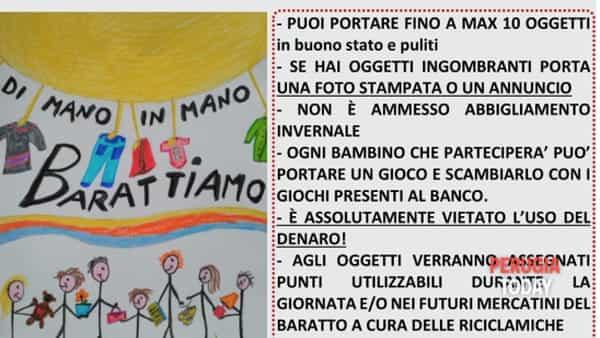 Baby swap party a Perugia: grande divertimento al Parco San Quirico