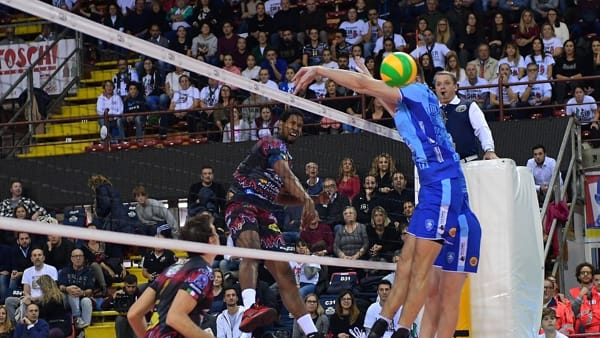 Volley, accoppiamenti e calendario della Supercoppa: la Sir Safety punta l'Arena di Verona