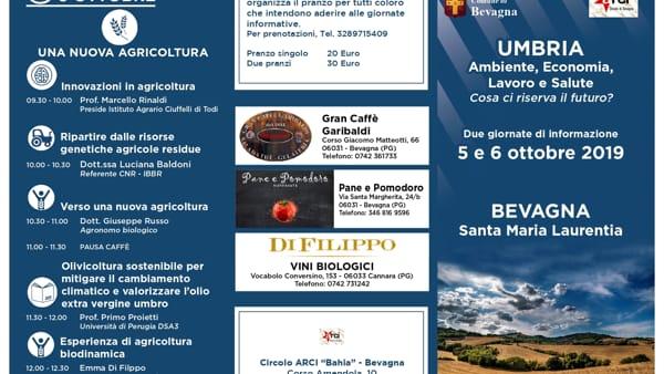Ambiente, economia, lavoro e salute in Umbria, se ne parla a Bevagna il 5 e 6 Ottobre con Arci