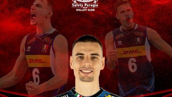 Volley, colpo grosso per Perugia: preso Simone Giannelli