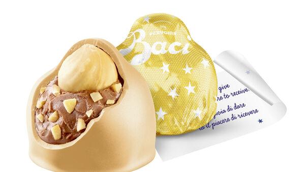 Arriva il Bacio Perugina Gold con cioccolato al caramello salato