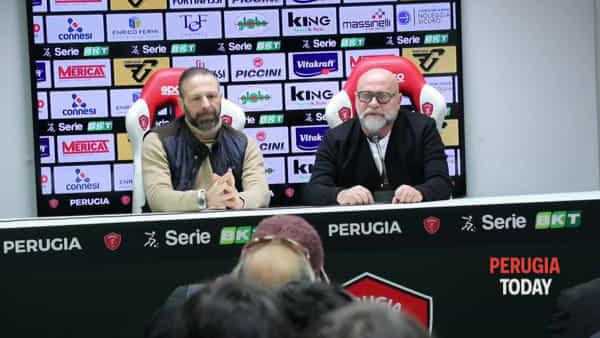 """VIDEO Cosmi nuovo allenatore del Perugia: """"Sono tornato a casa. Allenare il Grifo è un'altra cosa"""""""