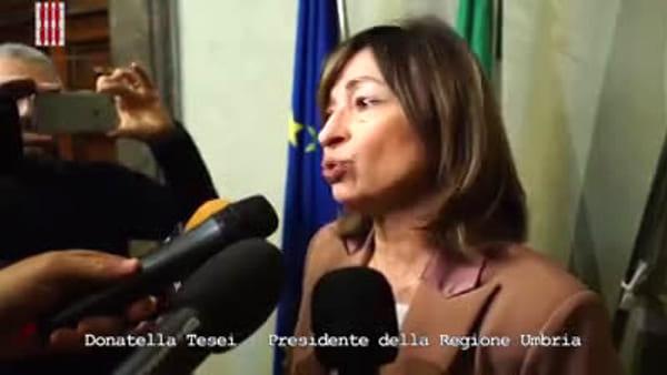 VIDEO Coronavirus, le contromisure della Regione Umbria: la presentazione dell'ordinanza