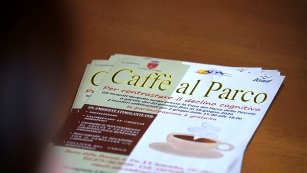 """""""Un caffè al parco"""", solidarietà per combattere l'Alzheimer"""