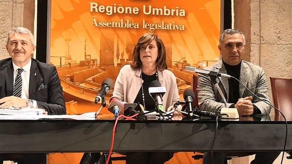 VIDEO L'annuncio dell'ufficio di presidenza dell'Assemblea legislativa: sfiducia Marini, mozioni in aula