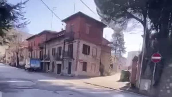 VIDEO Le strade di Perugia al tempo del coronavirus