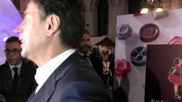 """VIDEO Elezioni regionali, il presidente Conte da Eurochocolate: """"Il voto in Umbria non può essere un test nazionale"""""""