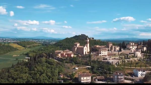 VIDEO L'Umbria delle meraviglie come non l'avete mai vista, lo spettacolo di Solomeo