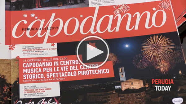 VIDEO Perugia, Capodanno in centro: fuochi d'artificio e musica, le prime anticipazioni