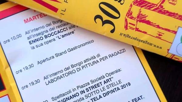 In...contriamoci a Mugnano dal 21 al 30 Giugno 2019 nel segno dell'arte