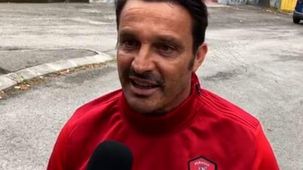 """VIDEO Serie B, il Perugia dal Curi, Oddo: """"Giocare sempre per vincere. Bene gli acquisti, i ragazzi vanno conosciuti sul campo"""""""