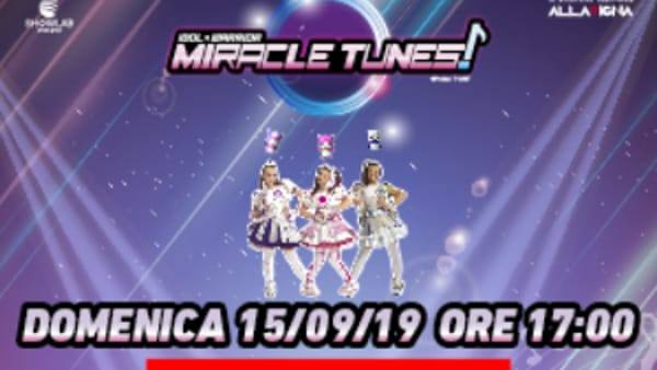 Miracle Tunes incontrano i fan al Centro Commerciale Collestrada