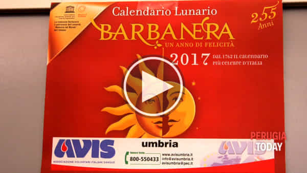VIDEO Presentato l'imperdibile calendario Barbanera: sarà un 2017 all'insegna del sociale