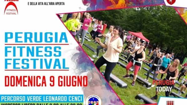 Perugia Fitness Festival al Percorso Verde