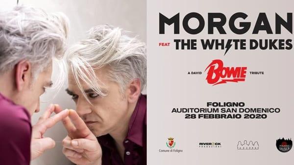 Morgan a Foligno il 28 Febbraio per un tributo a David Bowie