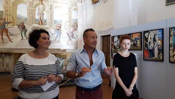 A Panicale arriva la mostra di Stefano Chiacchella nella suggestiva chiesa di san Sebastiano