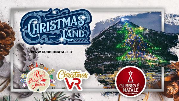 A Gubbio il Natale è ChristmasLand, un viaggio fantastico tra passato e futuro che piace a piccoli e grandi