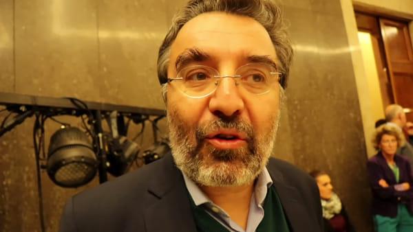 """VIDEO  Marco Damilano alla Stranieri: """"Umbria, una svolta epocale ma non inattesa"""""""