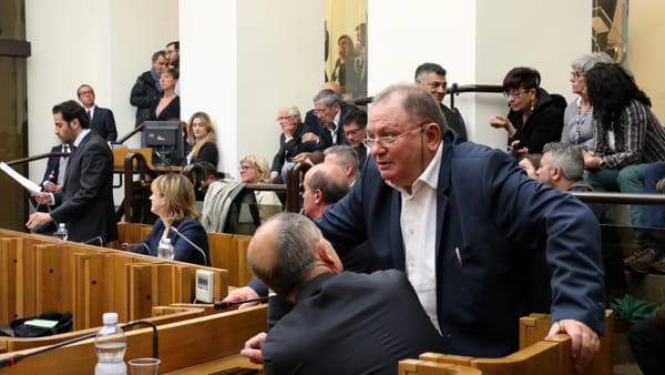 """VIDEO Dimissioni Marini, Chiacchieroni (Pd): """"La presidente presto in aula per definire il futuro prossimo"""""""