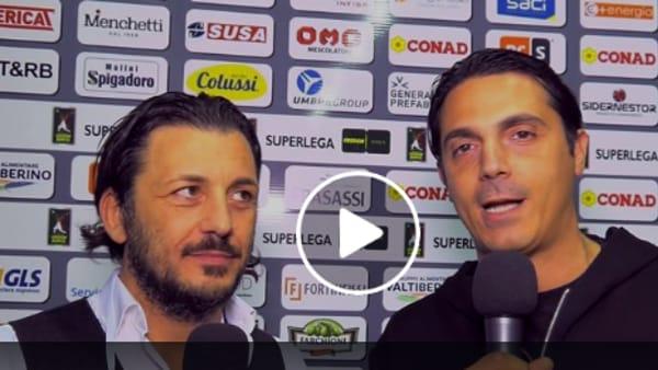 VIDEO Sir Safety e 7Cervelli insieme per Perugia-Monza, la partita tutta da ridere